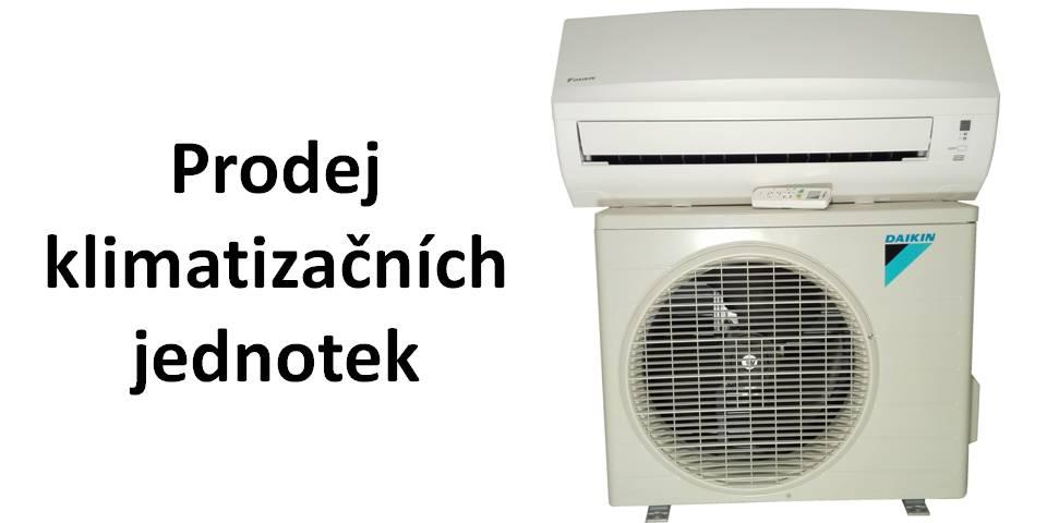 Prodej klimatizačních jednotek